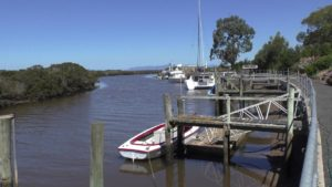 Jetty, Port Franklin