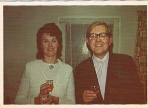 Janice and Ken in the 60's